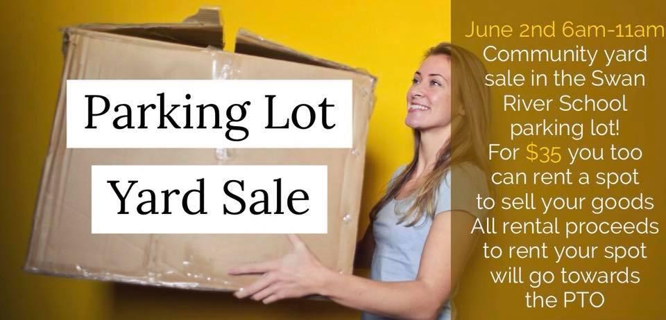 Parking Lot Yard Sale